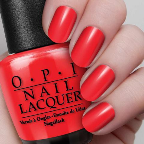 OPI Nail Lacquer 0.5 oz - Big Red Apple - iNeedBeauty