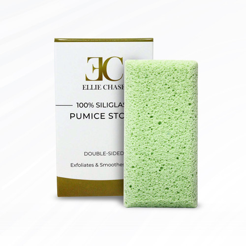 Double Sided 100% Siliglass Pumice Stone Callus Remover, Exfoliates Feet & Smooths Skin