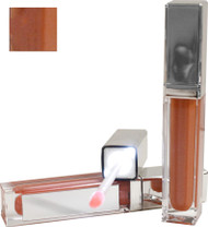 Prettylish LED Lighted Mocha Flavor Lip Gloss with Built in Mirror .21