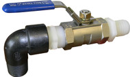 Replacement 1 Inch Stainless Steel Ball-Valve Outlet