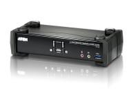 ATEN CS1922: 2-Port USB 3.0 4K DisplayPort KVMP™ Switch (Cables included)