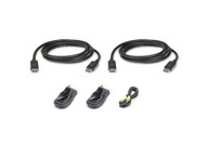 ATEN 2L-7D02UDPX5: 1.8M USB DisplayPort Dual Display Secure KVM Cable Kit