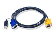 ATEN 2L-5202UP: ATEN USB Smart Cable For Legacy PS/2 KVM Switche, 1.8M (6 Ft)