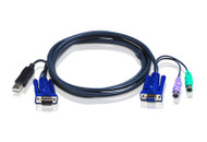 ATEN 2L-5502UP: 6' (2m) PS/2 to USB KVM Cable