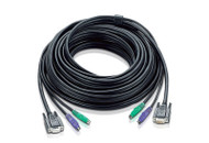 ATEN 2L-1010P/C: 30 feet (10 meter) PS2 KVM PS/2 Cable
