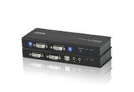 ATEN CE604: DVI Dual View KVM Extender