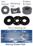 Pneumatic Gas Cylinder Bearing Repair Replacement Kit