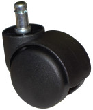 100 Heavy Duty Office Chair Twin Wheel Carpet Casters Rated 110 lbs Each