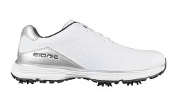 Etonic Mens Stabilizer 2.0 Shoes White/Silver Size 10.5 Wide (SZ200WHS)