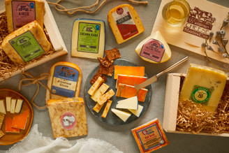 Cheese of the Month Club - 3 Month Gift-Baskets