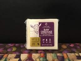 Raw Goat Cheddar
