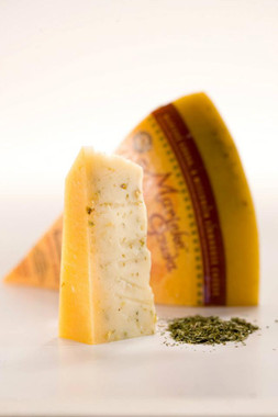 Foenegreek Gouda Raw Cow's Milk Farmstead-made in Clark County