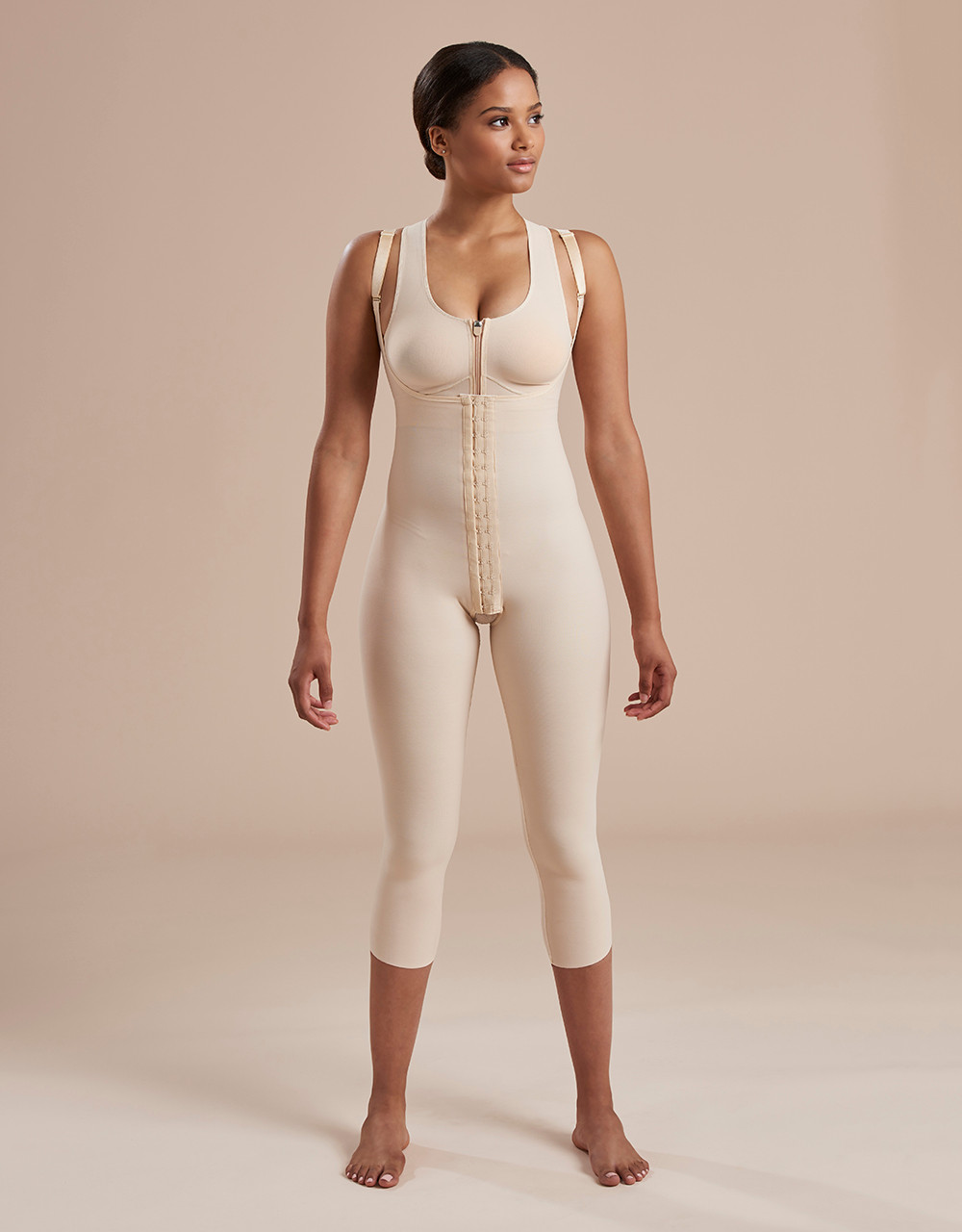 062943dd782 Marena Recovery SFBHM capri length girdle with high-back