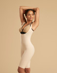 Marena Recovery SFBHS2 sigh length girdle with high back zipperless, seen here with the  ME-811 bra (sold separately).