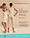 Marena Recovery SFBHS Infographic thigh length girdle wit high back