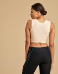 Marena Recovery FVNS compression vest, seen here with the 225 core compression capri for women (sold separately).
