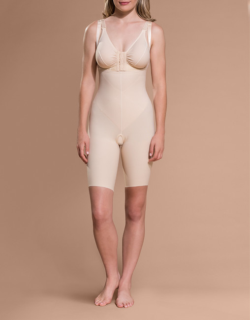 Marena Shape PPGS full-thigh compression shaper, seen here with the BA classic bra (sold separately).