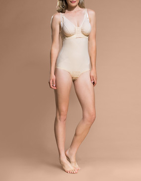 Marena Shape PPGA bikini-waist compression shaper, seen here with the BA classic bra (sold separately).