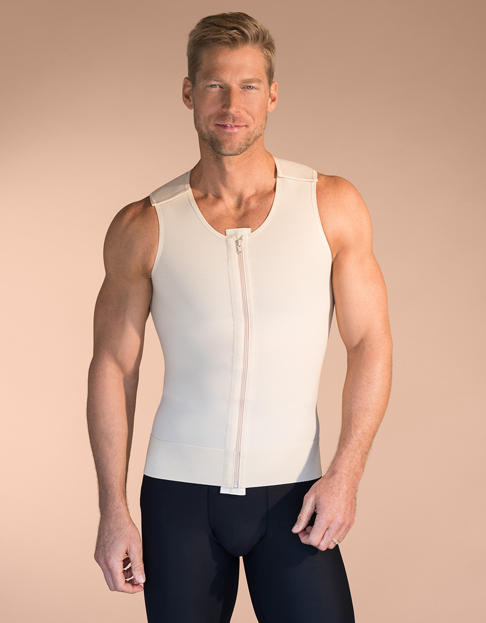 8e0588aba9 Marena Recovery MV sleeveless compression vest for men (bottoms sold  separately).