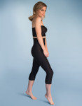 Marena Shape ME-521 hight-waist compression capris, seen here with the BB seamless cup strapless bra (sold separately).