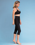 Marena Shape ME-501 compression capris, seen here with the B09Z seamless cup bra with zipper (sold separately).