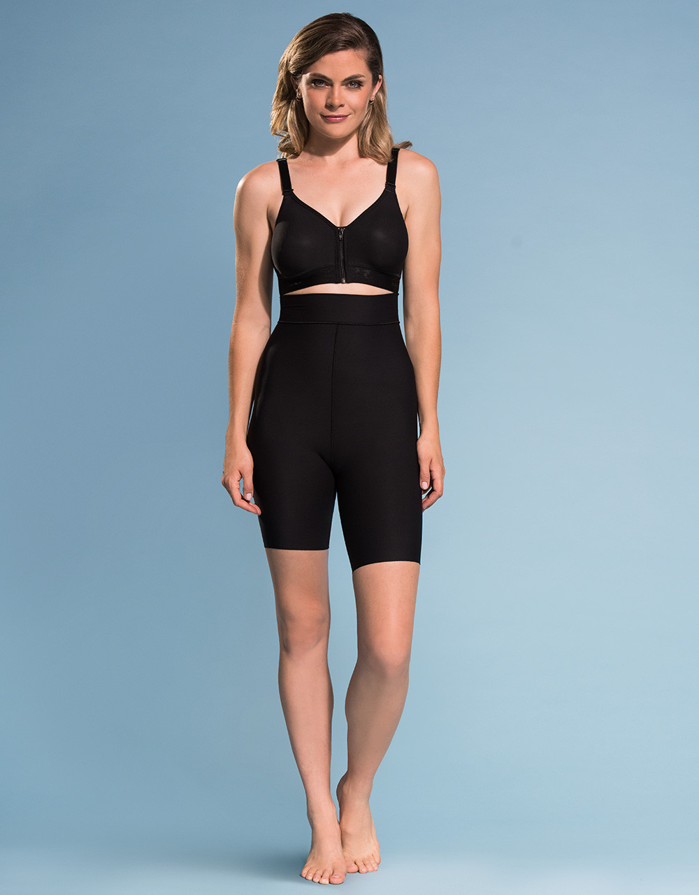 be2fbfcf33 Marena Shape ME-421 high-waist compression shorts, seen here with the B09Z