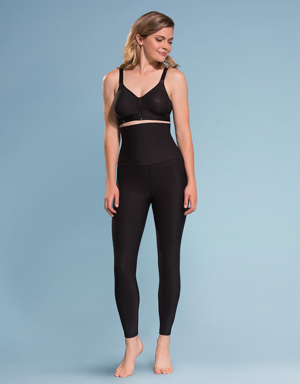 b250cd4f88ecb Marena Shape ME-211 high-waist compression leggings with wide band