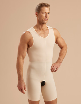Marena Recovery MB2 sleeveless compression bodysuit zipperless.