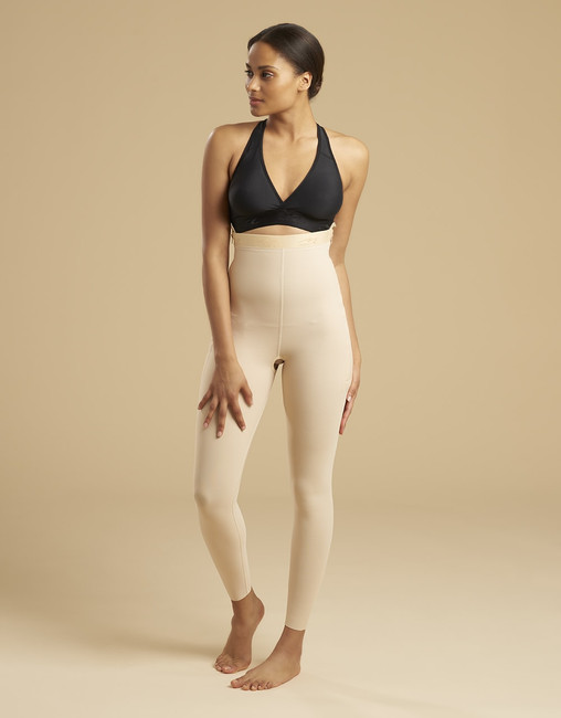 Marena Recovery LGL ankle-length compression girdle, seen here with the ME-811 bra (sold separately).