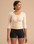 Marena Recovery FV2M compression vest, seen here with the 227 elite compression short w/pockets (sold separately).