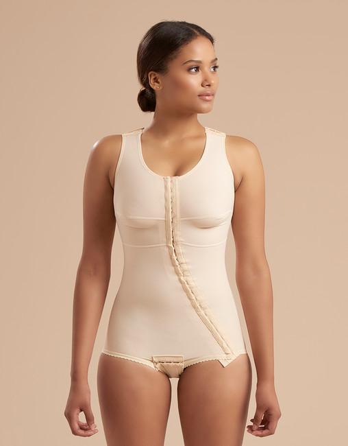 Marena Recovery FTA sleeveless compression bodysuit panty-length .