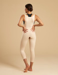 Marena Recovery FBM capri-length girdle with suspenders, seen here with the ME-811 bra (sold separately).