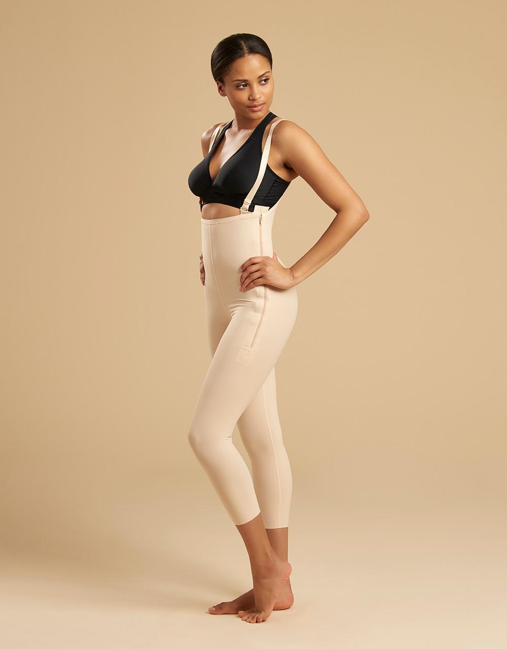 4ff4755e1 Marena Recovery FBM capri-length girdle with suspenders