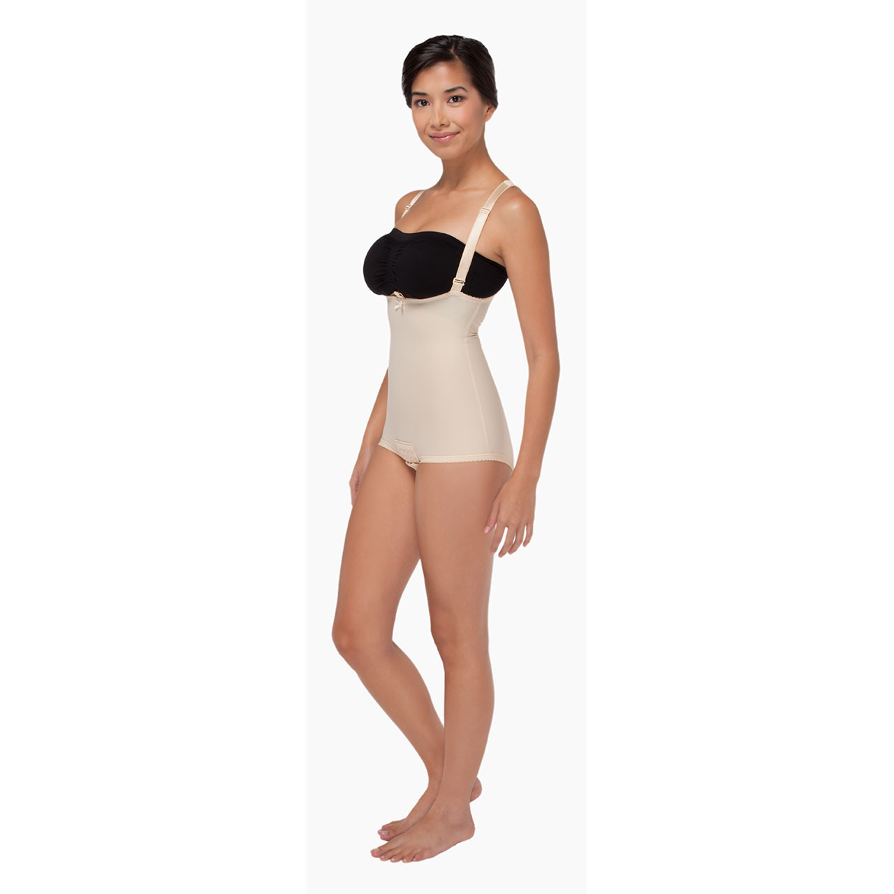 93b90affc764e Panty-Length Compression Girdle with Suspenders - Zipperless