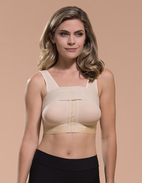 Marena Recovery B15 seamless cup bra with implant stabilizer.