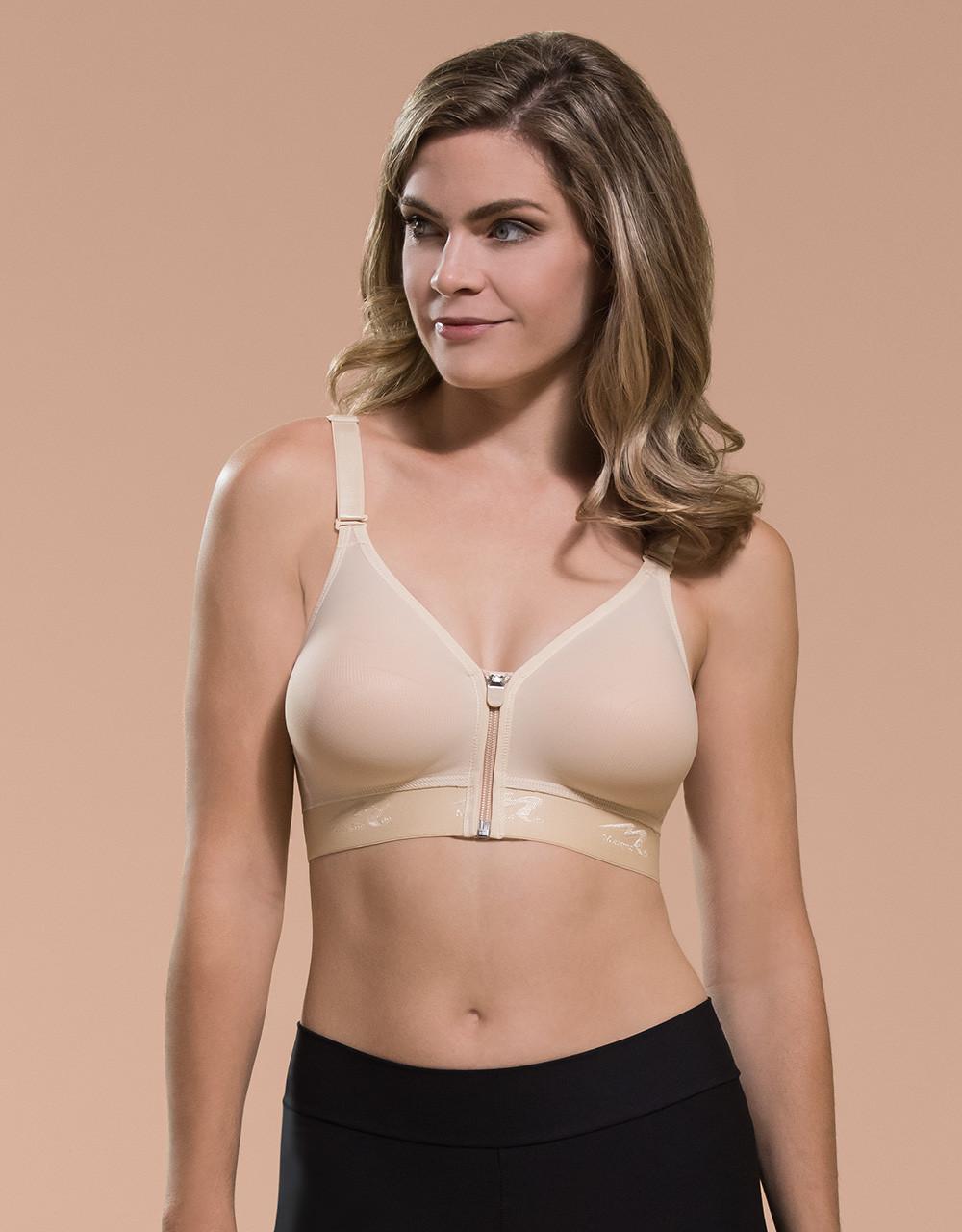 f5e15a722b Marena Recovery B09Z seamless cup bra with zipper.
