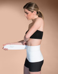 Marena Recovery AB3S3 9-inch compression binder with 3 split panel compression binder.