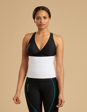 Marena Recovery AB3F7 9-inch compression binder with inner fabric lining.