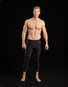 608 | Men's Elite Low-Waist Compression Crop Pants