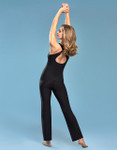 Marena Shape ME-805 easy-on pocket key-hole cami, seen here with the 202 compression yoga pant (sold separately).