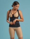 Marena Shape ME-807 wear your own bra compression camisole, seen here with the B01GP wireless bra with pockets seamless cup (sold separately).