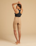 Marena Recovery LL1GS single zip compression girdle thigh length, seen here with the ME-811 bra (sold separately).
