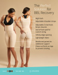 Marena Recovery FBCS  infographic compression bodysuit for Brazilian Butt Lift