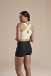 Marena Recovery 804ZP compression bra, seen here with the 216 compression shorts (sold separately).
