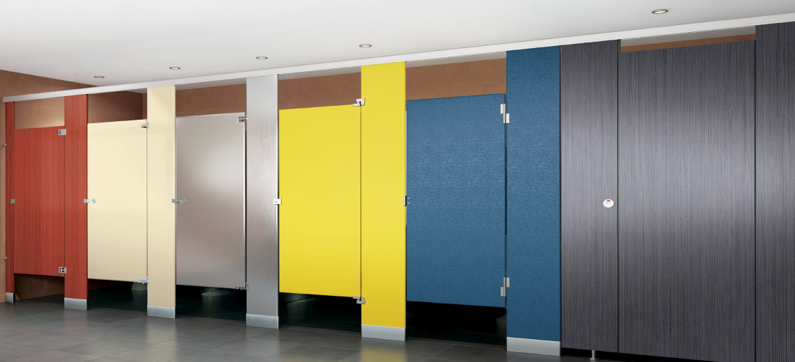 Types of toilet partitions - Restroom Stalls and All