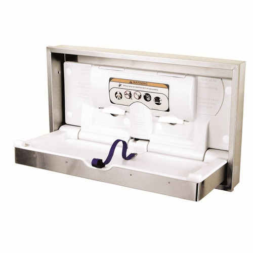 Restroom Stalls And All -- World Dryer ABC-300HSR