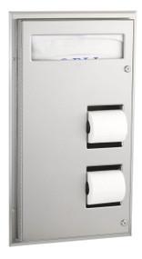 Seat-Cover Dispenser And Toilet Tissue Dispenser