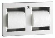 Trimline Recessed Toilet Tissue Dispenser