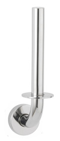 Spare Toilet Roll Holder, Bright Polished