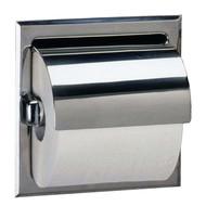Toilet Tissue Dispenser with Hood, Satin